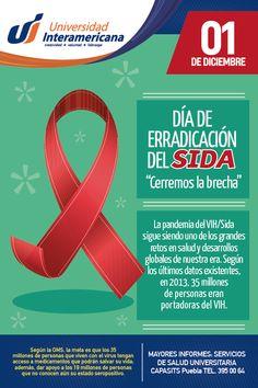 ERRADICACIÓN DEL SIDA. Universidad Interamericana Puebla.