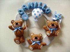 ursos de feltro