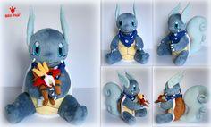 Pokemon - Wartortle OC Bubble - Plush by Lavim.deviantart.com on @deviantART