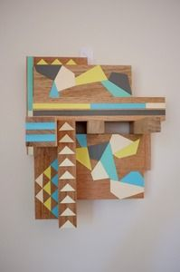 jewelry hanger from recycled timber by Andrea of Stampel Studio in Australia