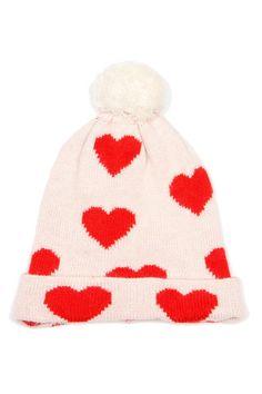 Mini Rodini Heart Wolly Hat | Mini Rodini from Sweden