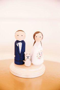 Geniale Figuren für die Hochzeitstorte – Die Liebe zum Detail als Geheimzutat! Image: 4