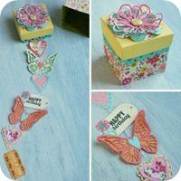 Sizzix Big Shot PLUS Starter Kit - Happy Birthday in a Box by cafecreativo