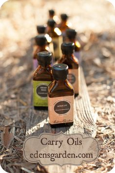 "Carrier Oils not only ""carry"" essential oils onto the skin but they also contain vitamins, minerals and essential fatty acids, and many of them soften and improve the condition of the skin. Some are also highly effective in treating irritated, sensitive conditions such as eczema and psoriasis as well as helping to reduce wrinkles and scar tissue."