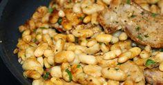 Beans with pork loin - Mongetes amb llomillo - La cuina de sempre