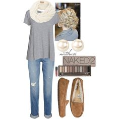 """Comfy simple Outfit"" by natihasi on Polyvore"