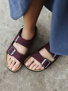 LOVE this color birkenstock