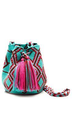 Handmade Wayu Mini Mochila by Muzungu Sisters