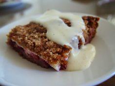 JusSinan Keittiössä: Maisemakahvilan makea piirakka ja vaniljakastike