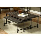 Found it at Wayfair - Saal Nested Coffee Table
