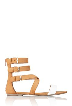 Day Dreamer Strappy Sandals | FOREVER21 - 2000065131. I love this sandal, minus 1 or 2 of the ankle straps