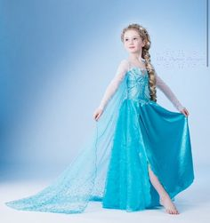 Elsa costume for little girls