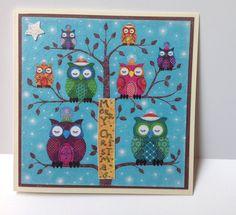 Weihnachtskarte von DekoWunderwelt auf DaWanda.com