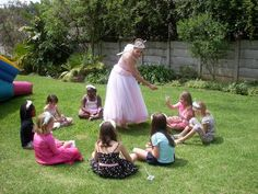 Girls Party Themes | Fairy Princess