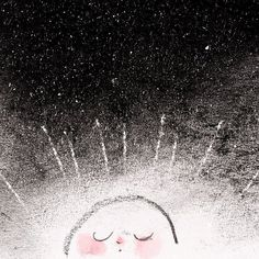 happy yalda! Cute Illustration, Funny Cute, Cute Pictures, Celestial, Outdoor, Happy, Outdoors, Ser Feliz, Outdoor Games