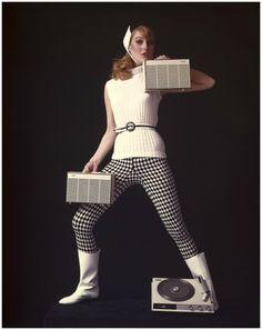 1966 Pope Electronics calendar. Photo: Hans Dukkers