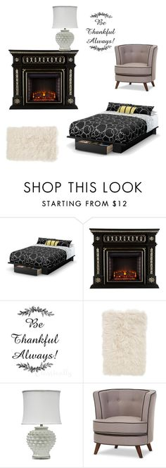 """""""Untitled #113"""" by denise-ealy on Polyvore featuring interior, interiors, interior design, home, home decor, interior decorating, South Shore, Nordstrom and Baxton Studio"""