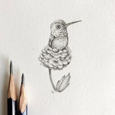 "111 Likes, 5 Comments - Lauren Mendez (@littleloboart) on Instagram: ""Mini #hummingbird! We've had a pack of them flying around the backyard and fighting for all the new…"""