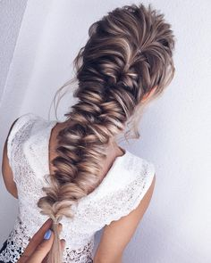 Wedding Hairstyles For Long Hair 52 Beautiful hairstyle inspiration , braids ,hairstyles ,braided ponytails , textured braids Half Updo Hairstyles, Wedding Hairstyles For Long Hair, Short Hairstyles For Women, Short Haircuts, Hairstyle Wedding, Hairstyles Pictures, Hairstyles 2018, Natural Hairstyles, Short Hair Styles Easy