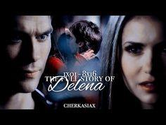 The full story of Damon Salvatore and Elena Gilbert - 1x01-8x16