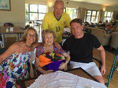 With, Mom, Chris and Seb