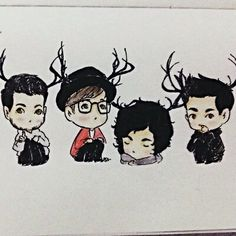 Fall Out Boy fan art for Sugar we're goin Down. This is one of the best fan art pics of FOB ever
