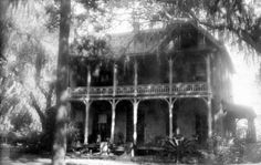 Florida Memory - Home of Judge Benjamin Calhoun Palatka, Florida Vintage Florida, Old Florida, Florida Usa, Palatka Florida, Florida Houses, Putnam County, Visit Florida, Old Images, Sunshine State