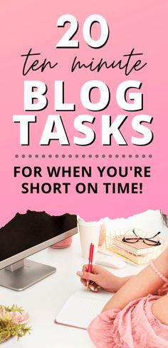 Blog Writing Tips, Blog Tips, Blog Online, Blog Planner, 2015 Planner, Make Money Blogging, Blogging Ideas, Ten Minutes, Creating A Blog