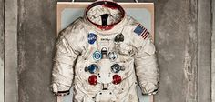 """Neil Armstrong's Spacesuit Was Made by a Bra Manufacturer No one knows what Columbus was wearing when he set foot in the New World, but on July 20, 1969, when Neil Armstrong took his """"one giant leap"""" onto the Moon, he was clad in this custom-made spacesuit, model A7L, serial number 056. Its cost, estimated at the time as $100,000 (more than $670,000 today), sounds high only if you think of it as couture. In reality, once helmet, gloves and an oxygen-supplying backpack were added, it was a…"""