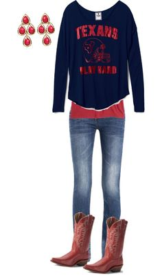 """Texans Tailgate"" by msheatherblu on Polyvore"