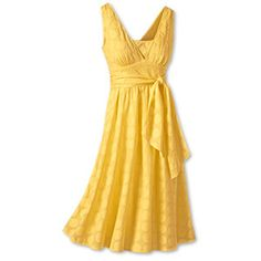 The girls to wear soft yellow sundresses with boots. Cad still in soft white sundress.
