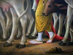 Excerpts from Srimad Bhagavatam Krishna Leela, Jai Shree Krishna, Cute Krishna, Lord Krishna Images, Radha Krishna Pictures, Radha Krishna Photo, Krishna Radha, Jai Hanuman, Krishna Drawing