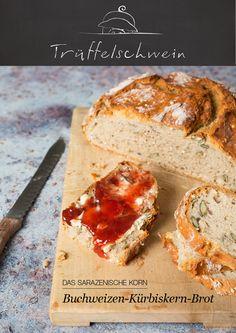 Buchweizen-Kürbiskern-Brot: Ein selbstgebackenes Brot mit wunderbarer Kruste und nussigem Aroma. Aus dem Gusseisentopf.