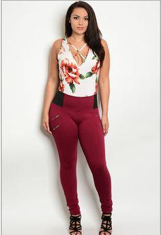 Plus Size High Waist Leggings http://style-your-curves.com/products/plus-size-high-waist-leggings?utm_campaign=crowdfire&utm_content=crowdfire&utm_medium=social&utm_source=pinterest