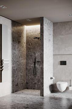 Luxury Home Interiors Set In Black And White Decor Bathroom Design Small, Bathroom Interior Design, Modern Bathroom, White Living Room Set, Toilet Room Decor, Restroom Design, Luxury Homes Interior, White Decor, Minimalist Home