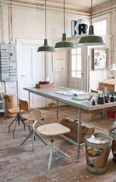 industrial workspace, estilo industrial, office workspace, home office, Industrial Workspace, Office Workspace, Home Office, Industrial Style, Industrial Design, Industrial Lighting, White Industrial, Kitchen Industrial, Workspace Design