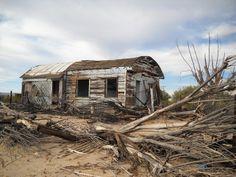 Kelso California, Mojave National Preserve, abandoned house