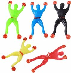 100 pcs/lots Climbing Spider-Man action figure toys Cabinets doors walls glass Creative Classic Toys educational spiderman toys #Affiliate