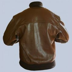 A-1 Leather Flight Jacket Back View. Explore the collection of our military  spec f0499429e82
