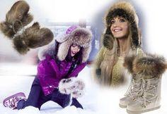 Faux Fur Vests, Winter Wear, Mittens, Fur Coat, Canada, Hats, How To Wear, Jackets, Fashion
