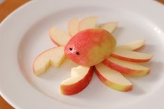 Toddler lunch ideas. I don't think I would have the time to make these, but they're darn adorable.