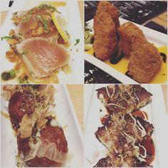 happy #friday #friends #birthday #celebration  #eatwithivan #kinkaizakaya #japanese #foodie #foodporn #briecheese #okonomiyaki #takoyaki #salmon #tataki by funzzz
