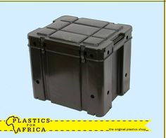 The holidays are around the corner. Be prepared with this strong box and clip on lid, which is ideal for safaris and camping. Visit your nearest branch. Plastic Shop, Around The Corner, Africa, Strong, Camping, Holidays, Box, Outdoor Decor, Home Decor