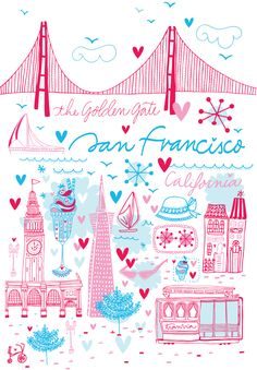 """adorable """"destination"""" tee designed by my friend Meki from Buenos Aires!"""