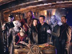 The 50 Greatest Sci-Fi TV Shows Ever Farscape For four seasons in the early 00s, those who were hip enough to know about this Australian-produced space opera got to follow the adventures of lost NASA astronaut John Crichton, a living ship known as Moya, and the not-so-peaceful Peacekeepers.