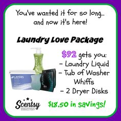 Are you a laundry nut too? Enjoy the smell of Scentsy fragrances as you hang your washing on the line in the sunshine!