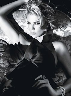 Charlize Theron | Mario Sorrenti #photography | W magazine February 2012
