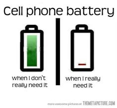 How my cell phone battery works…