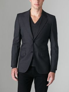 BLK DNM Two Button Blazer