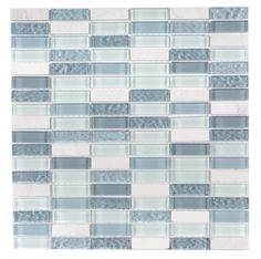 Accord Ice Cube 15x48mm Mosaic   Topps Tiles